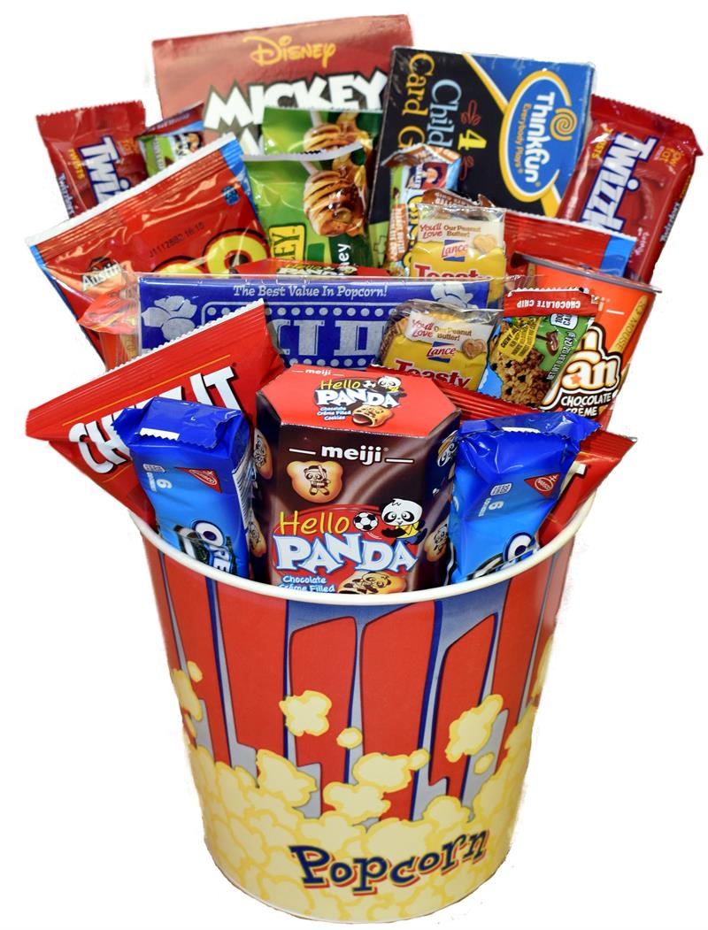 Funtime Snack Activity Bucket